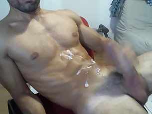 chaturbate,webcam,solo,muscle