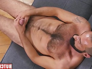 solo,muscle,gairy,cum,jerkoff